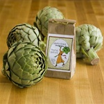 Artichoke 4 Pack with Gourmet Dipping Sauce Mix