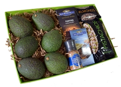 Avocado, Nuts & Sweets Feast